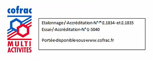 testo accreditation cofrac
