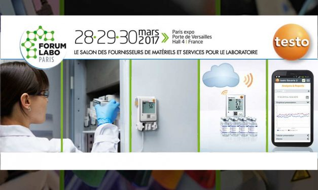Testo au salon FORUM LABO